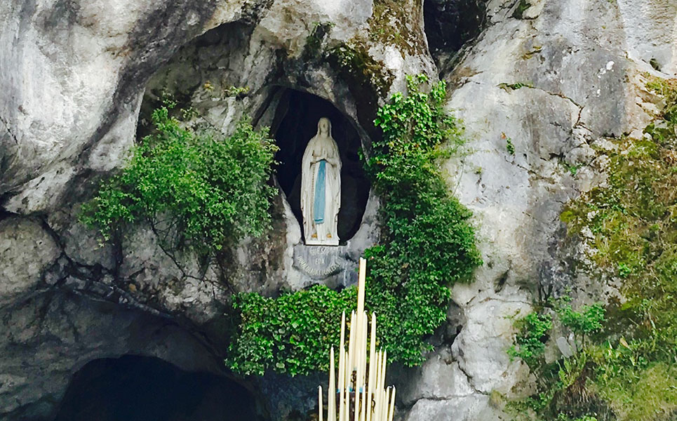 2OUR LADY OF LOURDES